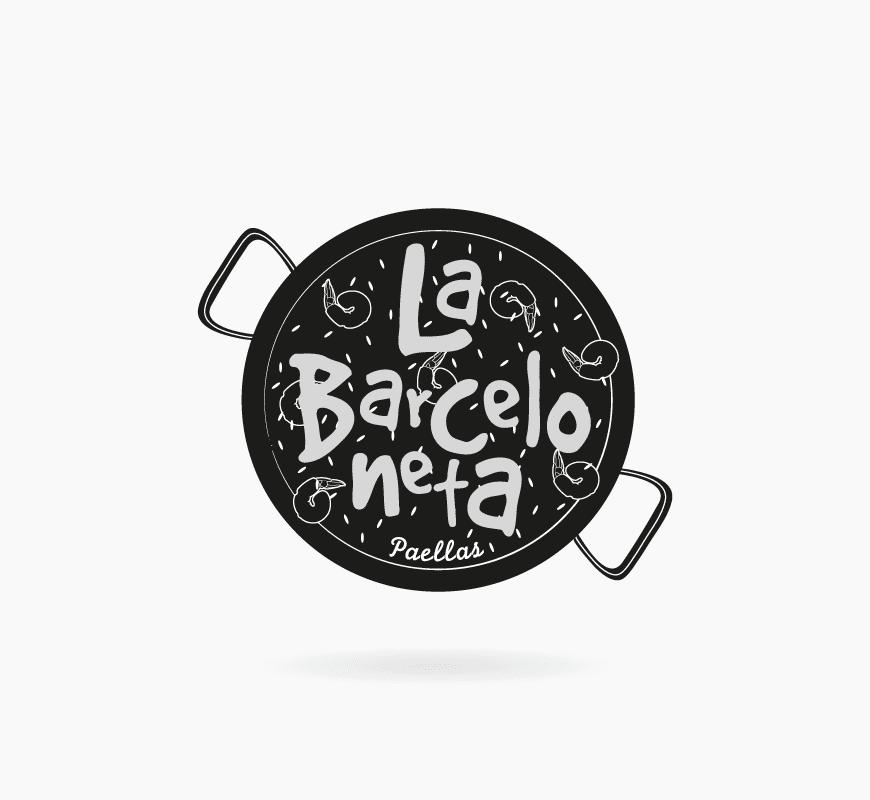 diseño logo barceloneta