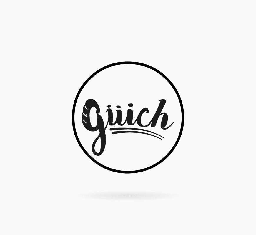 diseño logo guich