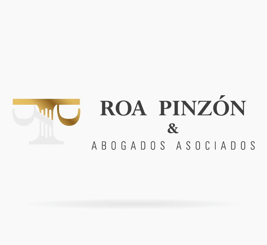 diseño logo roa pinzón